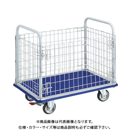 【運賃見積り】【直送品】TRUSCO ドンキーカート 金網付 915×615 S付 307NS