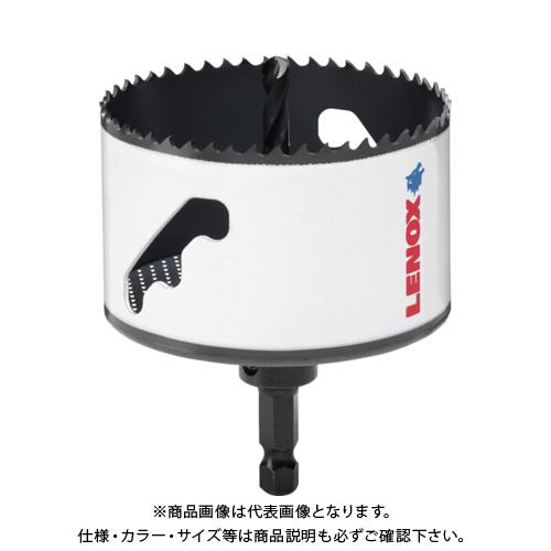 LENOX スピードスロット 軸付 バイメタルホールソー 152mm 5121055