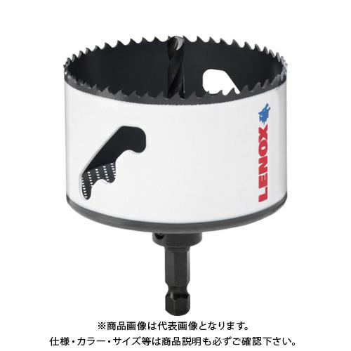 LENOX スピードスロット 軸付 バイメタルホールソー 102mm 5121046