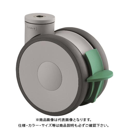 テンテキャスター 高性能旋回双輪キャスターLINEA(ウレタン車輪) 5941UAP150P30-13