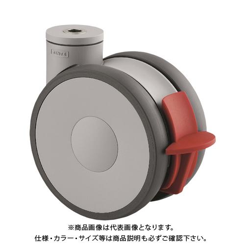 テンテキャスター 高性能旋回双輪キャスターLINEA(ウレタン車輪) 5947UAP150P30-13