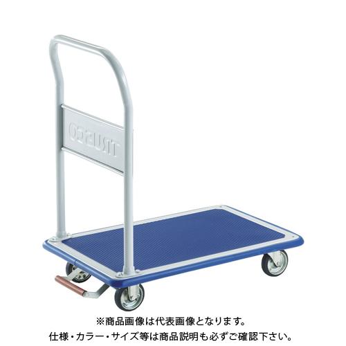 【運賃見積り】【直送品】TRUSCO ドンキーカート 固定式1190X440 ピン式固定車S付 402NKB