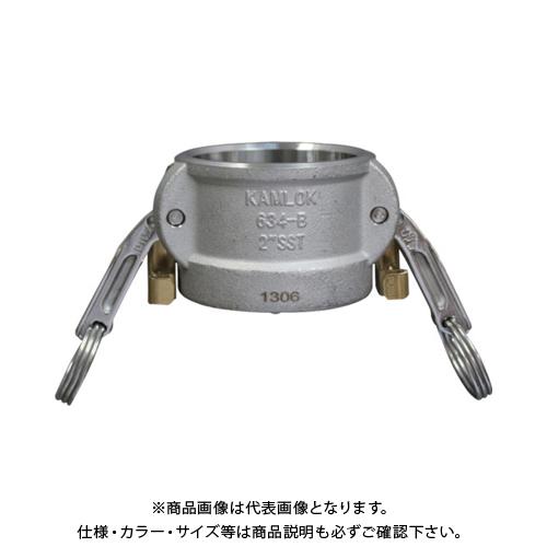 トヨックス カムロック ツインロックタイプカプラー ダストキャップ ステンレス 634-BL 3/4 SST