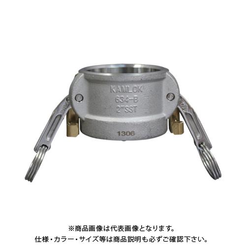 トヨックス カムロック ツインロックタイプカプラー ダストキャップ ステンレス 634-BL 2 SST