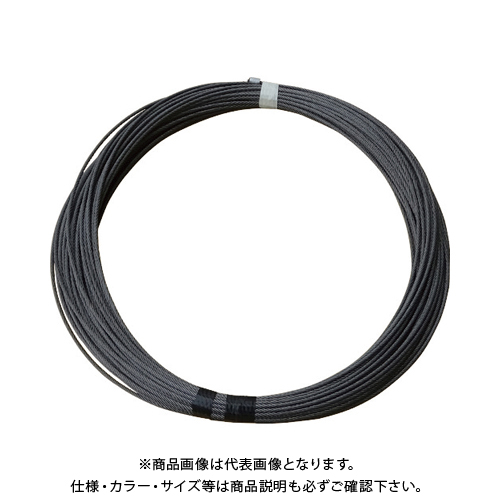 TKK DB-N820専用交換ワイヤロープ ワイヤロープ φ6×22M (麻芯6×19) 6X22M DB-N820