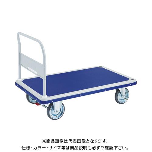 【運賃見積り】 【直送品】 TRUSCO ドンキーカート 固定式1225X775 S付 502NS