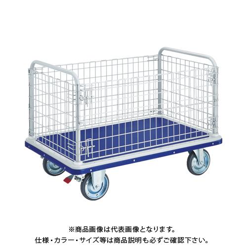 【運賃見積り】【直送品】TRUSCO ドンキーカート 金網付 1225×775 S付 507NS