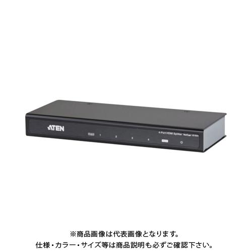 ATEN ビデオ分配器 HDMI / 1入力 / 4出力 / 4K対応 VS184A