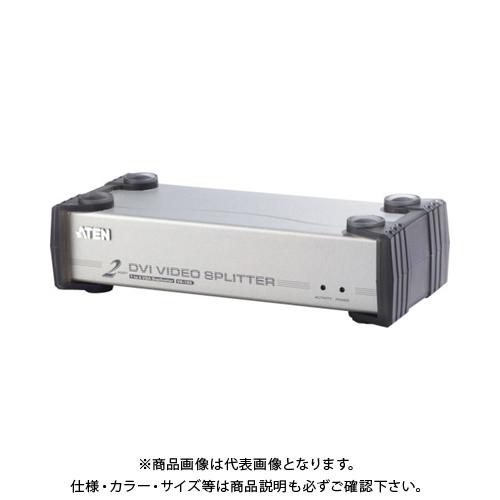 ATEN ビデオ分配器 DVI / 1入力 / 2出力 / オーディオ /シングルリンク対応 VS162