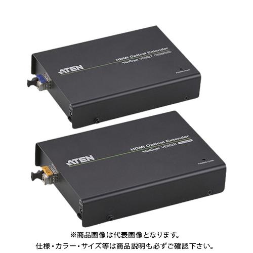 【直送品】ATEN ビデオ延長器 HDMI / 光ファイバー / 最大600m延長 VE882
