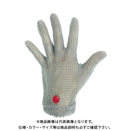ミドリ安全 ステンレス製 耐切創クサリ手袋 5本指 WILCO-050 Mサイズ 1枚 WILCO-050-M
