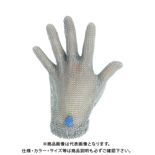 ミドリ安全 ステンレス製 耐切創クサリ手袋 5本指 WILCO-050 Lサイズ 1枚 WILCO-050-L