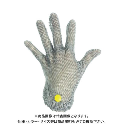 ミドリ安全 ステンレス製 耐切創クサリ手袋 5本指 WILCO-050 LLサイズ 1枚 WILCO-050-LL