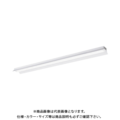 Panasonic 一体型LEDベースライトiDシリーズ 40形直付型反射笠付型 4000lm 昼白色 非調光 XLX440KENTLE9