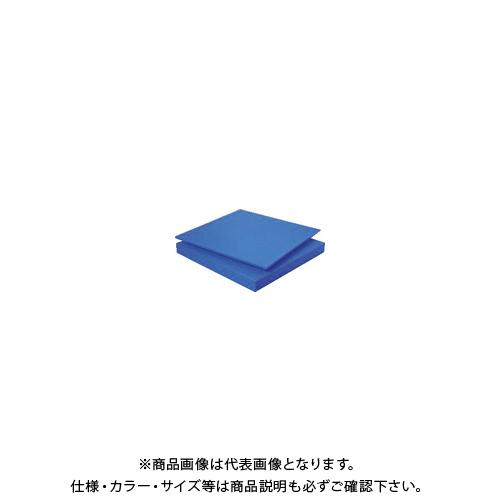 【個別送料1000円】【直送品】 タキロン スーパーキャストナイロン 20T×500×1000 青 TP-MCN-PLATE-550-20-500-1000