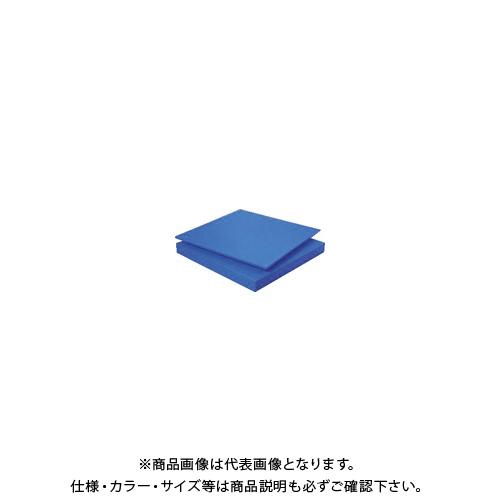 【個別送料1000円】【直送品】 タキロン スーパーキャストナイロン 25T×500×1000 青 TP-MCN-PLATE-550-25-500-1000