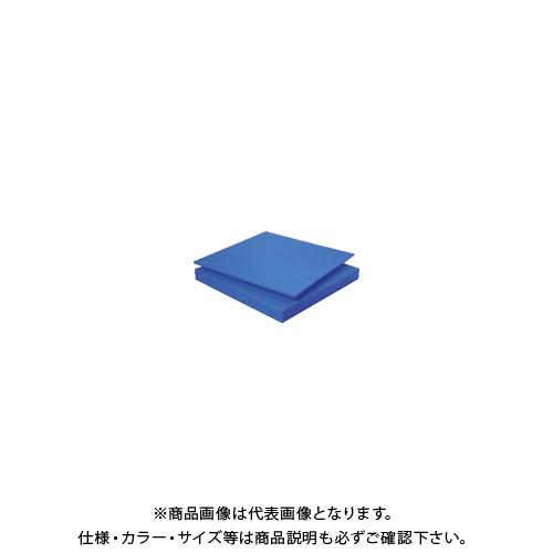 【個別送料1000円】【直送品】 タキロン スーパーキャストナイロン 30T×500×1000 青 TP-MCN-PLATE-550-30-500-1000