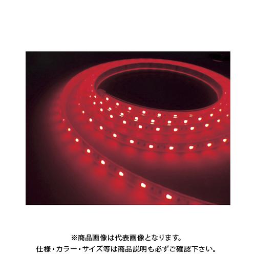 トライト LEDテープライト 16.6mmP 赤色 3M巻 TLVDR3-16.6P