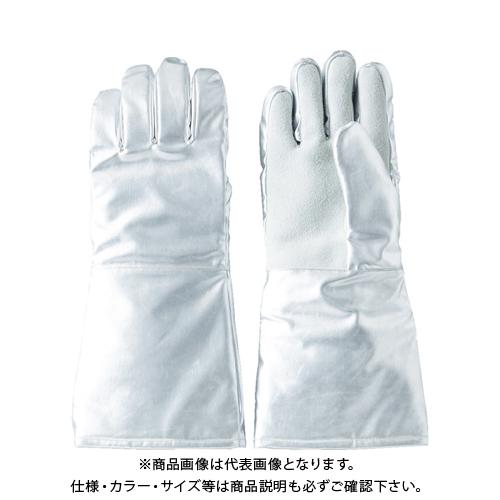 TRUSCO 遮熱・耐熱手袋 手のひら牛床革補強付 TMT-763FALT