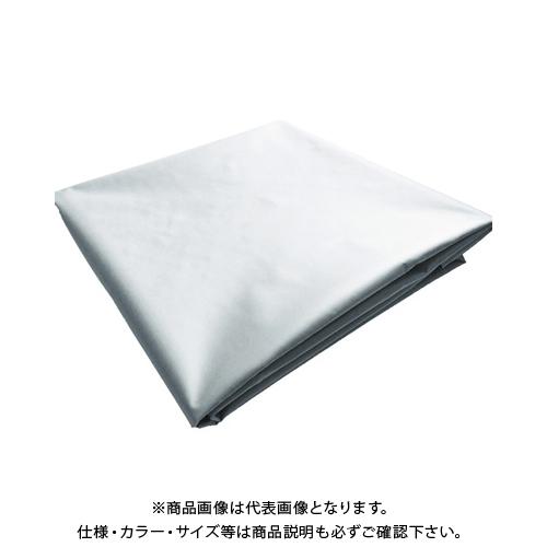 TRUSCO ターポリンシート グレー 3600X5400 0.35mm厚 TPS3654-GY