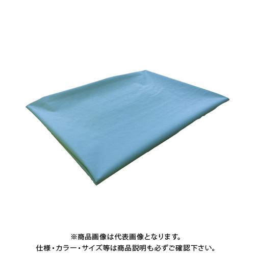 TRUSCO ターポリンシート ライトグリーン3600X5400 0.35厚 TPS3654-LGN