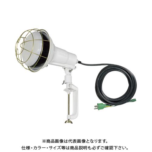 日動 LED投光器50W 昼白色 E付電線5m TOL-E5005J-50K