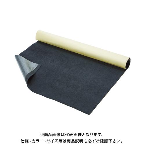 TRUSCO 厚手プロテクトシート テープ付 グレー 1200X1M 5枚入 紙管1本巻 T4-1200-GY