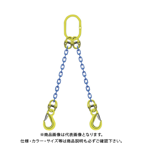 マーテック TA2-EKN-10 2本吊りチェンスリングセット L=1.5m マーテック L=1.5m TA2-EKN-10, ゴルフショップフラットヒル:9305f405 --- sunward.msk.ru