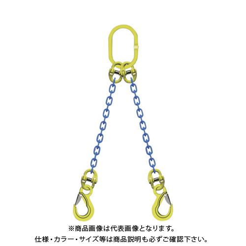 マーテック 2本吊りチェンスリングセット L=1.5m TA2-EKN-13