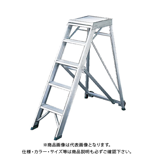 【運賃見積り】【直送品】TRUSCO 折りたたみ式作業用踏み台 高さ1.50m TDAD-150