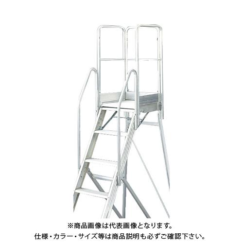【運賃見積り】【直送品】TRUSCO TDAD用フルセット手すり 高さ900mm 本体高さ0.90m~1.80m用 TDAD-TF