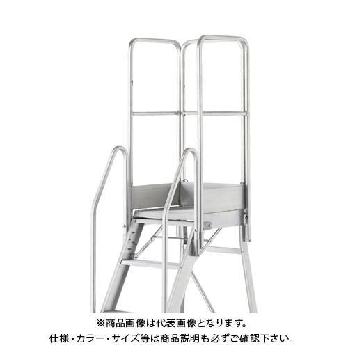 【運賃見積り】【直送品】TRUSCO TDAD用フルセット手すり 高さ1100mm 本体高さ0.90m~1.80m用 TDAD-TF-110