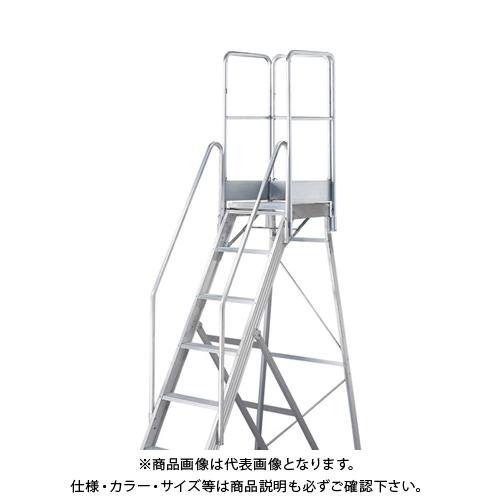 【運賃見積り】【直送品】TRUSCO TDAD用フルセット手すり 高さ1100mm 本体高さ2.10m用 TDAD-TF-210-110