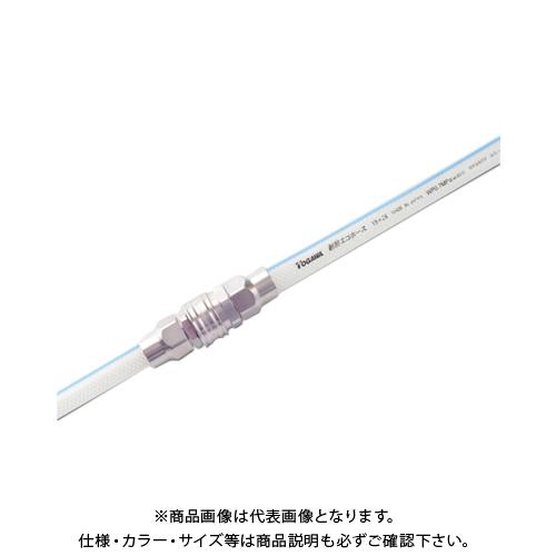 【運賃見積り】【直送品】十川 耐熱エコホース 15×22mm 25m TEH-15-25