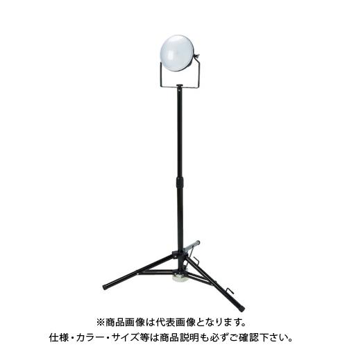 【運賃見積り】【直送品】TRUSCO LED投光器 DELKURO 三脚タイプ 1灯 50W 10m RTLE-510-SK