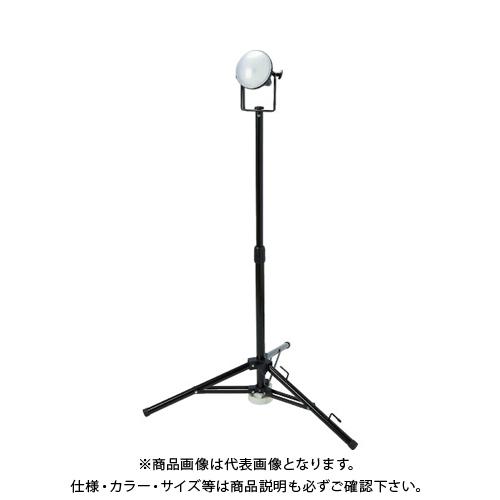 【運賃見積り】【直送品】TRUSCO LED投光器 DELKURO 三脚タイプ 1灯 20W 10m アース付 2芯3芯両用タイプ RTLE-210EP-SK