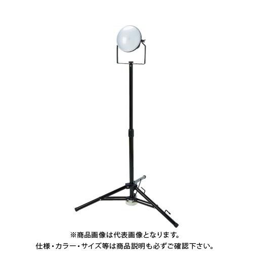 【運賃見積り】【直送品】TRUSCO LED投光器 DELKURO 三脚タイプ 1灯 50W 10m アース付 2芯3芯両用タイプ RTLE-510EP-SK