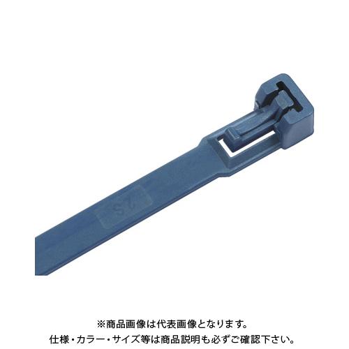 SapiSelco 金属センサー感知可能リリースケーブルタイ 7.5mm×360mm RIA.11.234DET