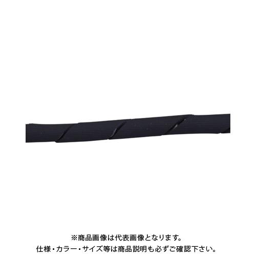 【運賃見積り】【直送品】中村工業 ワイヤロープ用クッションカバー くるっと スタンダード 5M S25-5