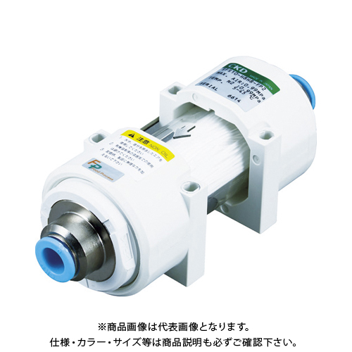 CKD 除菌フィルタ・インラインタイプΦ8チューブ継手付き SFS10-H8H8-FP2