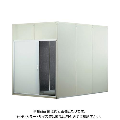 【運賃見積り】【直送品】テクセルSAINT 樹脂フレーム製防音ブースキット3連 H2000 SAINT BOOTH-KIT-JF H2.0-3
