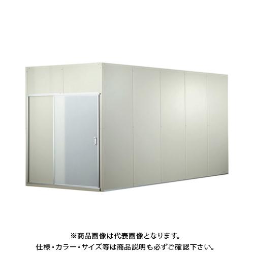 【運賃見積り】【直送品】テクセルSAINT 樹脂フレーム製防音ブースキット5連 H2000 SAINT BOOTH-KIT-JF H2.0-5