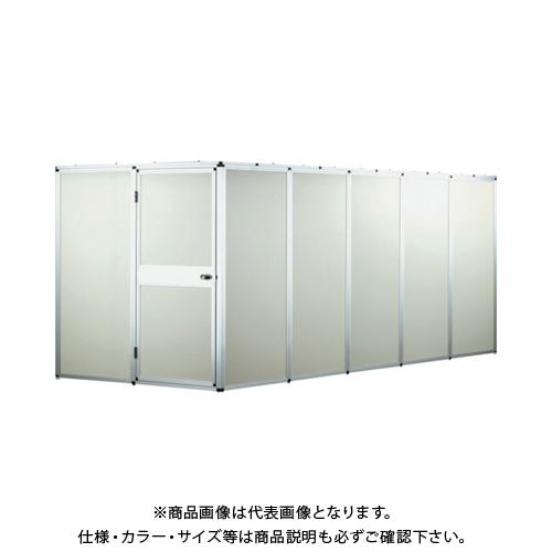 【運賃見積り】【直送品】テクセルSAINT アルミフレーム製防音ブースキット5連 H2000 SAINT BOOTH-KIT-AF H2.0-5