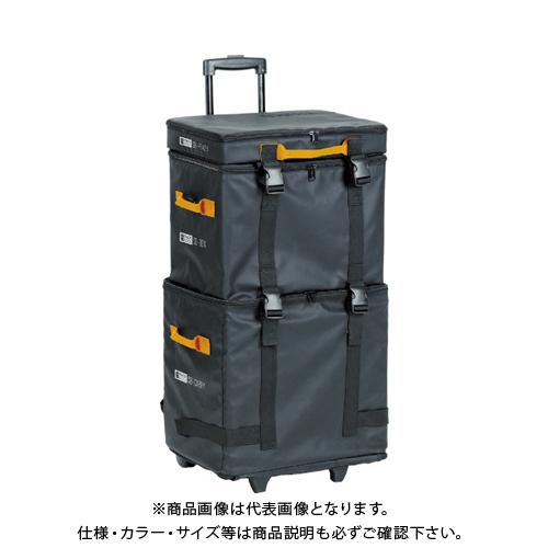 【運賃見積り】【直送品】TRUSCO プロ用段積みバッグ STACK BLOCK 3段タイプ SB-3SET