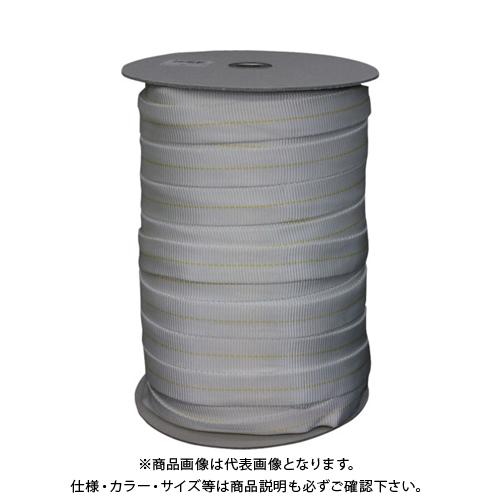 ユタカメイク ナイロン袋織ベルト ボビン巻 約25mm×約100m PFN-2510