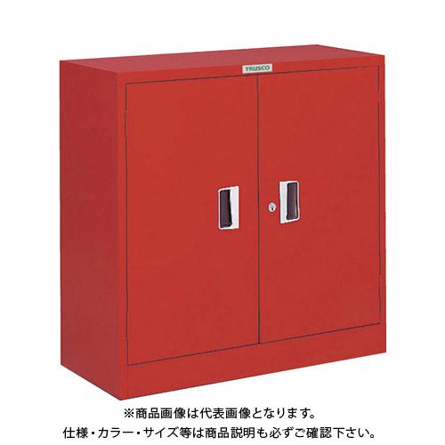 【運賃見積り】【直送品】TRUSCO 防災・非常用品保管庫 W880XD380XH880 同一キー仕様 R-303-DK