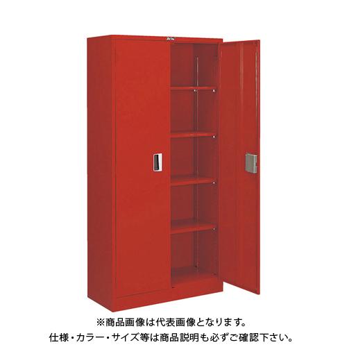 【運賃見積り】【直送品】TRUSCO 防災・非常用品保管庫 W880XD380XH1790 同一キー仕様 R-603-DK
