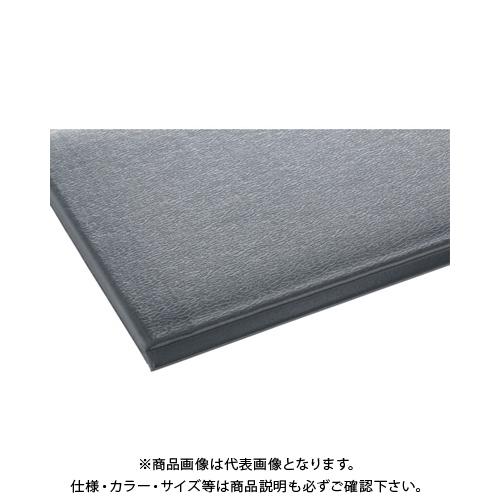 【運賃見積り】 【直送品】 テラモト テラクッション極厚 900×1500 グレー MR-069-044-5