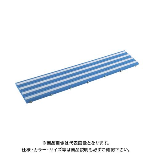 【運賃見積り】 【直送品】 テラモト 抗菌滑り止め安全スノコ(組立品)400×1800青 MR-098-414-3