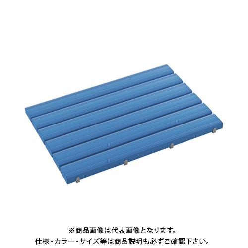 【運賃見積り】 【直送品】 テラモト 抗菌安全スノコ(組立品)600×1200青 MR-093-343-3